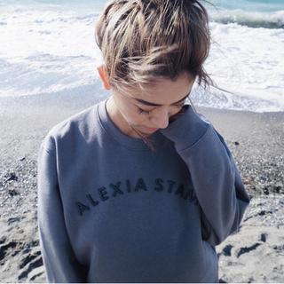 ALEXIA STAM - ALEXIA STAM ロゴトレーナー