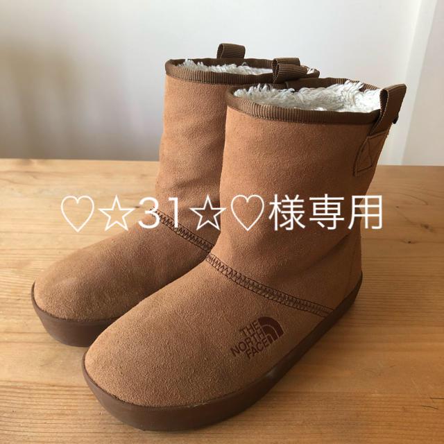 THE NORTH FACE(ザノースフェイス)のTHE NORTH FACE スエードブーツ20センチ キッズ/ベビー/マタニティのキッズ靴/シューズ (15cm~)(ブーツ)の商品写真