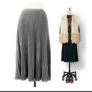 Drawer - ドゥロワー ニットプリーツスカート
