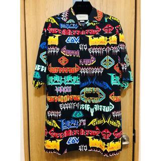 Gucci - GUCCI メタルロゴ 半袖シャツ 44 グッチ EXILE着 パンツ