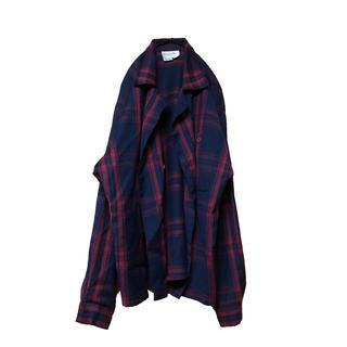 クリスチャンディオール(Christian Dior)のvintage Christian Dior ダブルシャツジャケット(シャツ)