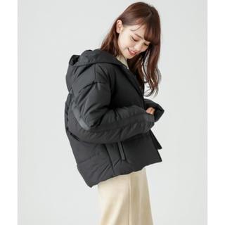mystic - omekashiフード付き中綿ジャケット