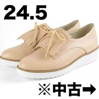 オリエンタルトラフィック(ORiental TRaffic)の2wayレースアップシューズ(ローファー/革靴)