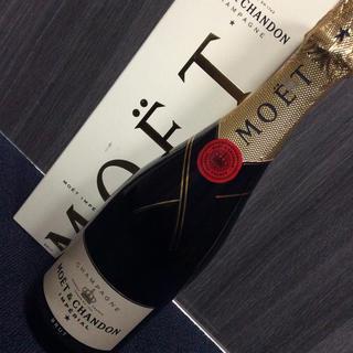 モエエシャンドン(MOËT & CHANDON)のモエ・エ・シャンドン インペリアル ブリュット  750ml 箱付き(シャンパン/スパークリングワイン)