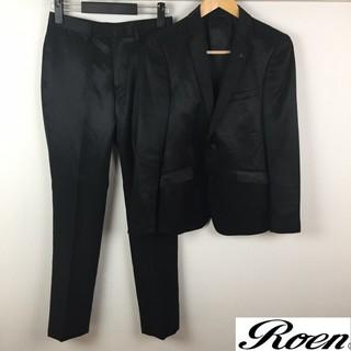 Roen - ロエン×セマンティックデザイン セットアップスーツ ブラック光沢 サイズY3