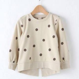 プティマイン(petit main)の プティマイン ドットトレーナー(Tシャツ/カットソー)