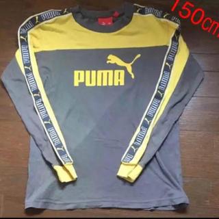 プーマ(PUMA)のプーマ長袖Tシャツ  150㎝  グレー(Tシャツ/カットソー)