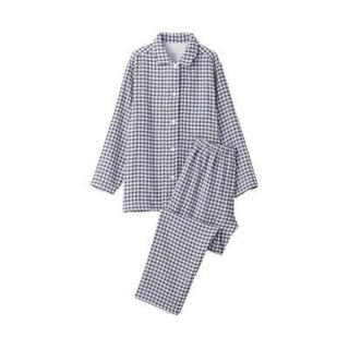 MUJI (無印良品) - 新品    無印良品  脇に縫い目のない 四重ガーゼパジャマ