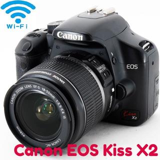 Canon - ✨Wi-Fiでスマホに 一眼レフ 入門セット Canon Kiss X2✨
