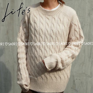 TODAYFUL - TODAYFUL【未使用】Cable Loose Knit★ungrid