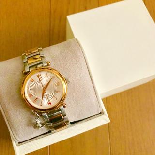 Vivienne Westwood - 【美品!!】ヴィヴィアン 腕時計 ピンクゴールド オーブチャーム クリスマス🎀