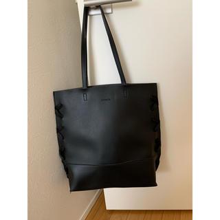 リエンダ(rienda)のrienda 鞄 トートバッグ ブラック ノベルティ(トートバッグ)