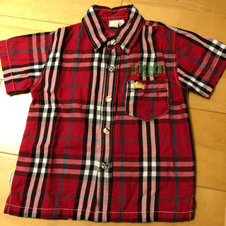 BURBERRY - オールドネイビー×バーバリー チェックシャツ