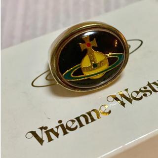 Vivienne Westwood - 希少 ビンテージ ゴールド エナメルオーブ リング