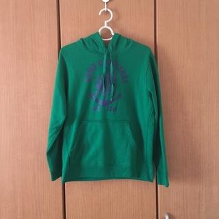 ウィゴー(WEGO)の緑のロゴパーカー(パーカー)