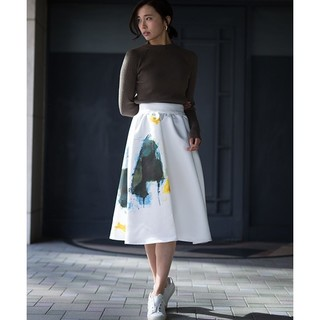 Ameri VINTAGE - アメリヴィンテージ CLAIRE FLARE SKIRT