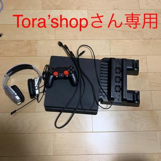 PlayStation4 - ps4本体とps4スタンドとヘッドセット