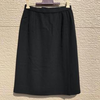 レリアン(leilian)のLeilian レリアン スカート 黒 ブラック 7(ひざ丈スカート)