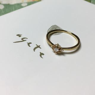 agete - agete classic★K18ダイヤリング#10★AHKAH好きに
