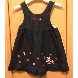 mikihouse - ミキハウス 女の子90cmジャンパースカート