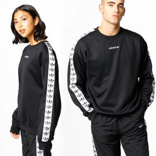 adidas - adidas クルー ス ウェット 新品 ブラック ユニセックス ジャージ 素材