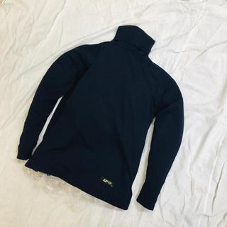 ザナックス(Xanax)の新品 未使用品 ザナックス タートルネックアンダーシャツ Mサイズ ネイビー (ウェア)