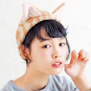 フェリシモ(FELISSIMO)のフェリシモ猫部 猫耳ヘアターバン ヘアバンド(ヘアバンド)
