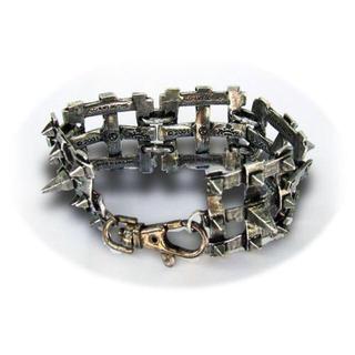 エフエーエル(F.A.L)のIron lattice Bracelet MADE in England(ブレスレット)