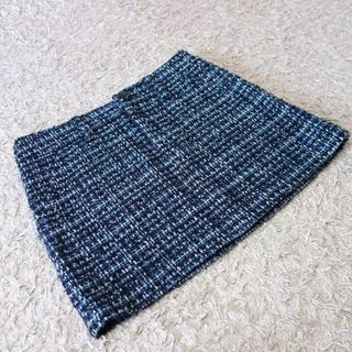 マカフィー(MACPHEE)のMACPHEE/ツイードスカート(ミニスカート)
