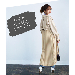titivate - 美品★tivivate バックプリーツトレンチコート Mサイズ