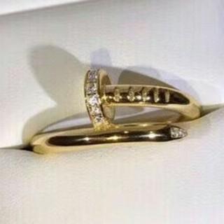 カルティエ(Cartier)のCartierカルティエ 男女兼用 超美品 リング 指輪 イエローゴールド 6#(リング(指輪))