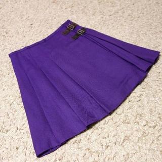 マカフィー(MACPHEE)のMACPHEE/ベルト付き巻きスカート(ミニスカート)