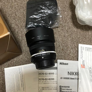 Nikon - 新品レベル NIKKOR 50mm f/1.8G Special Edition