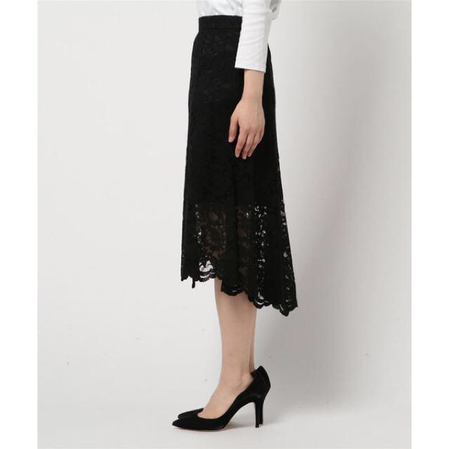 JILLSTUART(ジルスチュアート)のタグ付き新品 ジルスチュアート 大人気限定商品 レーススカート レディースのスカート(ロングスカート)の商品写真