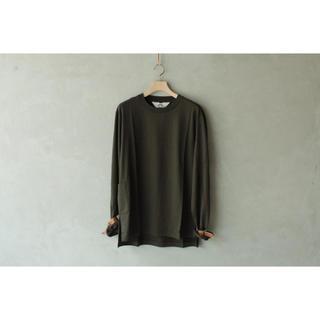 サンシー(SUNSEA)のSUNSEA 18AW Bondage Long-T/Olive Drab(Tシャツ/カットソー(七分/長袖))