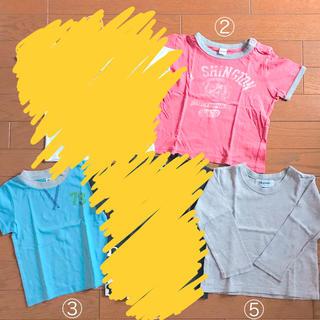 シップス(SHIPS)のキッズ トップス 男の子 Tシャツ ロンT ポロシャツ 半袖 夏 古着 90(Tシャツ/カットソー)