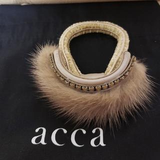 acca - ✨新品・未使用✨accaドレスポニー♥️ミンク♥️