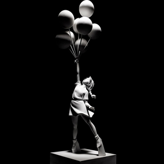 MEDICOM TOY - 新品国内正規品 BANKSY Flying Balloons Girl