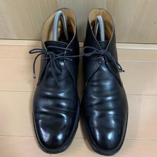 Crockett&Jones - クロケット&ジョーンズ チャッカブーツ 革靴