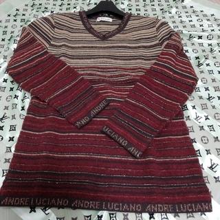アンドレルチアーノ(ANDRE LUCIANO)の💛新品💛日本製  ANDRE  LUCIANO   セーター(ニット/セーター)