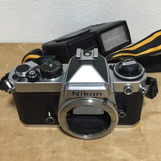 Nikon - ニコン  FE  専用ストロボ付き  動作品  現状渡し