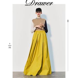 Drawer - ドゥロワー    2019AW 黄色スカート 36 新品未使用DRAWER