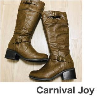 アスビー(ASBee)のCarnival Joy ロングブーツ  size(M) ASBee(ブーツ)