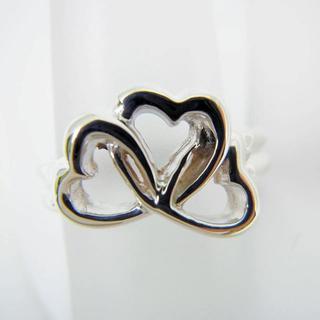 ティファニー(Tiffany & Co.)のティファニー 925 トリプルラビングハート リング 10.5号[g94-8](リング(指輪))