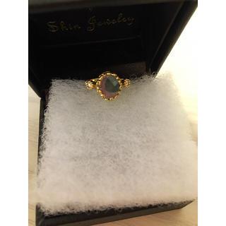 アッシュペーフランス(H.P.FRANCE)の11月末までXmas特別価格💍18k バイカラートルマリン ダイヤモンドリング(リング(指輪))