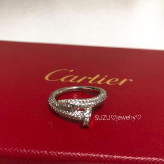 Cartier - 最高級シルバー✨釘リング❤️