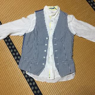 ヒロミチナカノ(HIROMICHI NAKANO)のヒロミチナカノ  ベスト  シャツ メンズ(シャツ)