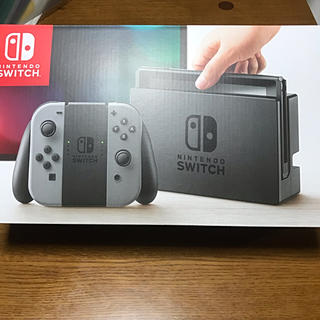 Nintendo Switch - 任天堂スイッチ本体 グレー 中古美品