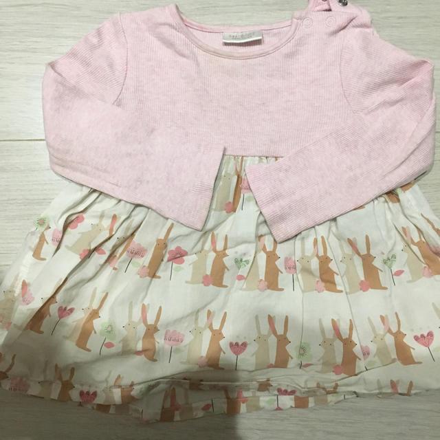 NEXT(ネクスト)のネクスト チュニック ワンピース キッズ/ベビー/マタニティのベビー服(~85cm)(シャツ/カットソー)の商品写真