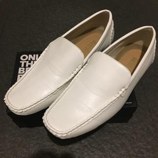 メンズ ★ 白 ★シューズ  靴 26.5cm
